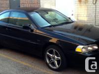 1998 BLACK VOLVO C70, Turbocharged 5 Cylinder for