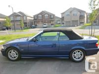 This stylish convertible is in excellent condition with