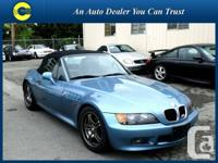 1998 BMW Z3 Roadster Convertible ONLY 62,000 KM !!!!