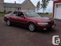 Make Cadillac Model STS Year 1998 Colour red kms 44000