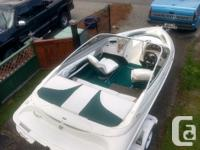 I'm selling my 1998 Campion 17.8 ft 535 VRi bowrider