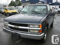 1998 CHEVROLET SILVERADO 1500 REGULAR CAB SHORT BOX