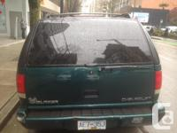 Make Chevrolet Model Blazer Year 1998 Colour Green kms