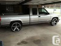 Make Chevrolet Model C/K 1500 Year 1988 Im lookin for a