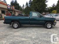 Make Dodge Model Ram 1500 Year 1998 Colour Green kms