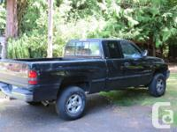 Make Dodge Model 1500 Year 1998 Colour Black kms