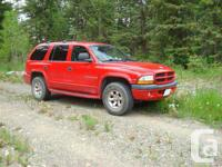 150 Mile House, BC 1998 Dodge Durango SLT This reliable