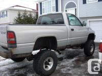 Truck has been lowered to D.O.T SPECS AND CAN BE