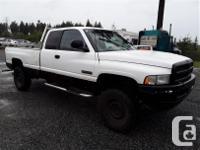Make Dodge Model Ram 2500 Year 1998 Colour White kms