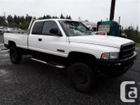 Make Dodge Model Ram 2500 Year 1998 Colour white kms