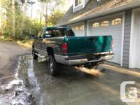 Make Dodge Model Ram 2500 Year 1998 Colour Green kms