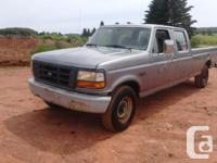 F-350 8ft box full 4 door 5.8 motor, very little rust