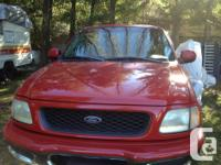 Make Ford Model F-150 Year 1998 Colour red kms 332000