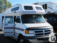 This Dodge B class motorhome has just arrived on the