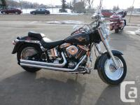 Very clean 1998 Fat boy, runs excellent, looks great.