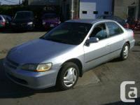 1998 Honda Accord Sedan   - 4 Door sedan, 2.2 Litre