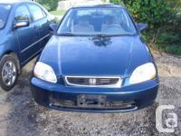 1998 Honda Civic .AUTOMATIC TRANS. ONLY:136,000KM