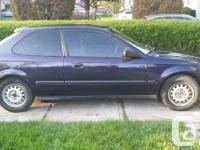 1998 honda civic cx in great condition. Low kms -