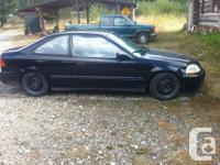 Make Honda Model Civic Coupe Year 1998 Colour Black