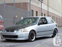 Make Honda Model Civic Year 1998 Colour Silver kms