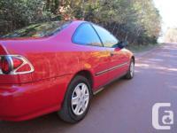 Make Honda Model Civic Year 1998 Colour Red kms 200000