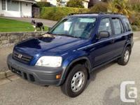 1998 Honda CRV 4x4, automatic, air conditioning, power