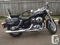 1998 Honda Shadow 750 ace only has 10974 kms 1000kms on