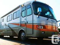 Class A Diesel Motorhome Split Bath (Walkthrough) Front