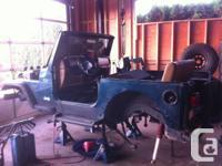 1998 Jeep TJ, 4cyl,5spd, 231 case, No Rust, Good frame,