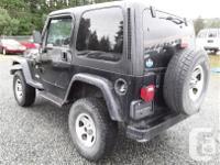 Make Jeep Model TJ Year 1998 Colour Black kms 227003