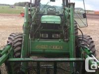 1998 john Deere 7410 Tractor. 4500 hours and has 3
