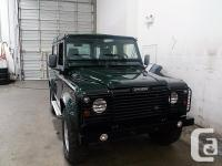 Trans Manual This classic 1998 Land Rover Defender 90