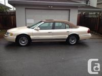 1998 Lincoln Continental Palm Springs Limited Edition