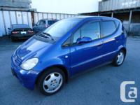 Arrived  1998 Mercedes A160 43km Very Nice clean car no