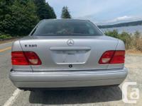 1998 Mercedes E320W -3.2L V6 -5-Speed automatic -RWD