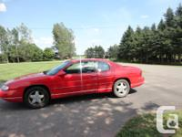 Make. Chevrolet. Design. Monte Carlo. Year. 1998.