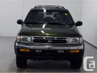 Make Nissan Model Pathfinder Year 1998 Colour Green