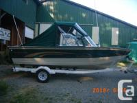 1998 Northwood Pro Trophy 192 aluminum boat and boat