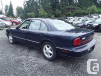 Make Oldsmobile Model 88 Year 1998 Colour Blue kms