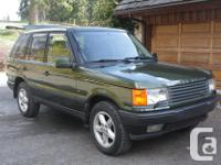 Make Rover Model Range Rover Year 1998 Colour Woodcote