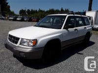 Make Subaru Model Forester Year 1998 Colour white kms