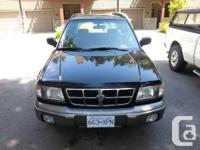 FOR SALE Vehicle	1998 Subaru Forster S Addition AWD