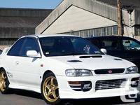1998 Subaru Impreza STI Type R 2 door model , A-BAG .