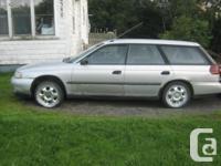 Make Subaru Model Legacy Wagon Colour Silver Trans