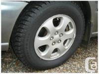 Reliable vehicle, Fully loaded, new winter tires, new