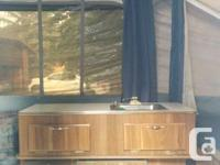 Offering our 1998 Flagstaff Camping tent Trailer. New