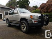 Make Toyota Model 4Runner Year 1998 Trans Automatic