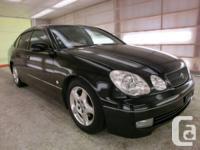 1998 Toyota Aristo V300 VERTEX EDITION, 2JZ 3.0L twin