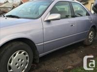 Make Toyota Year 1998 Colour Purple Trans Automatic