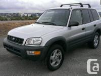 For Sale 1998 Toyota Rav4 , 4 Wheel Drive , 4 door,